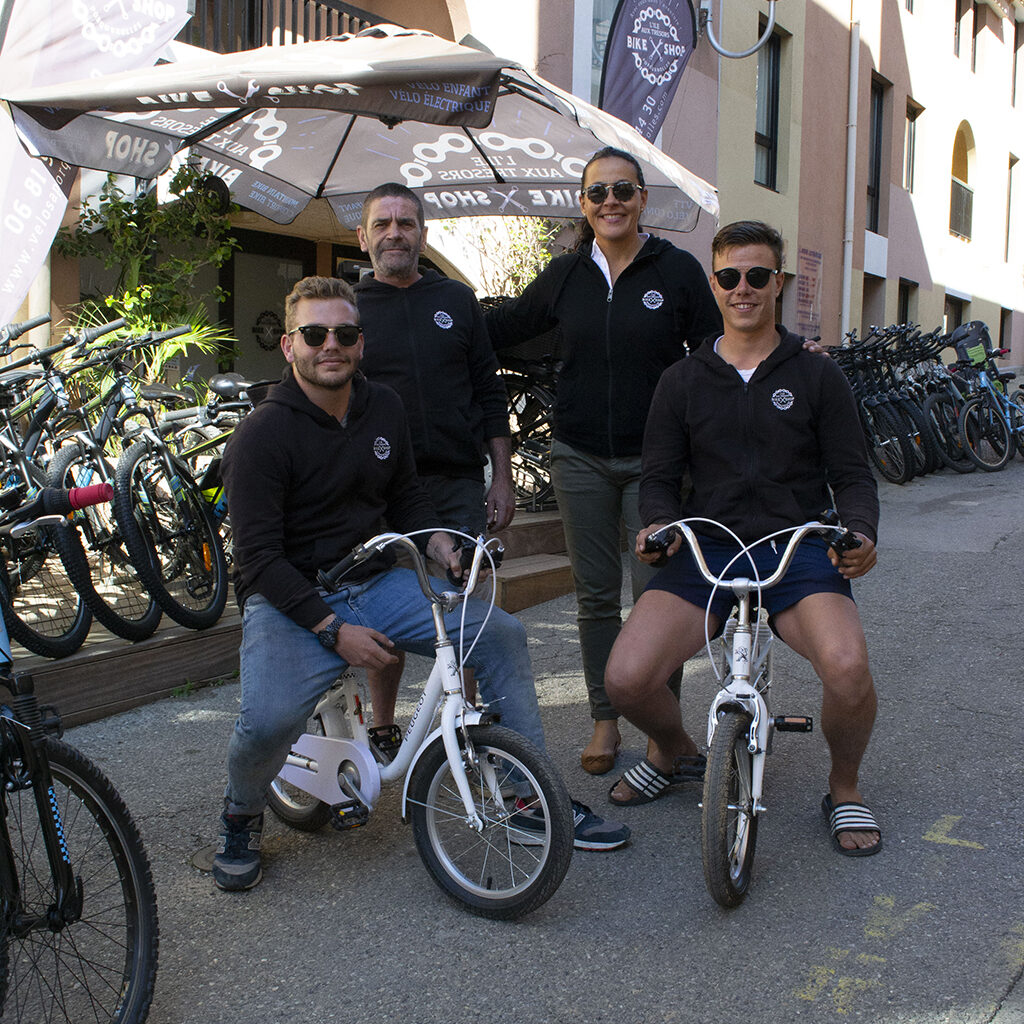 Equipe Bikeshop L'île aux trésors Porquerolles
