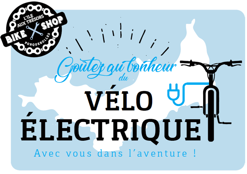 Location vélo électrique Porquerolles